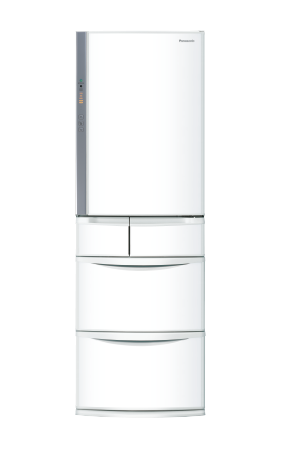 Panasonic 鋼板系列五門電冰箱 NR-E414VT (香檳金/晶鑽白)