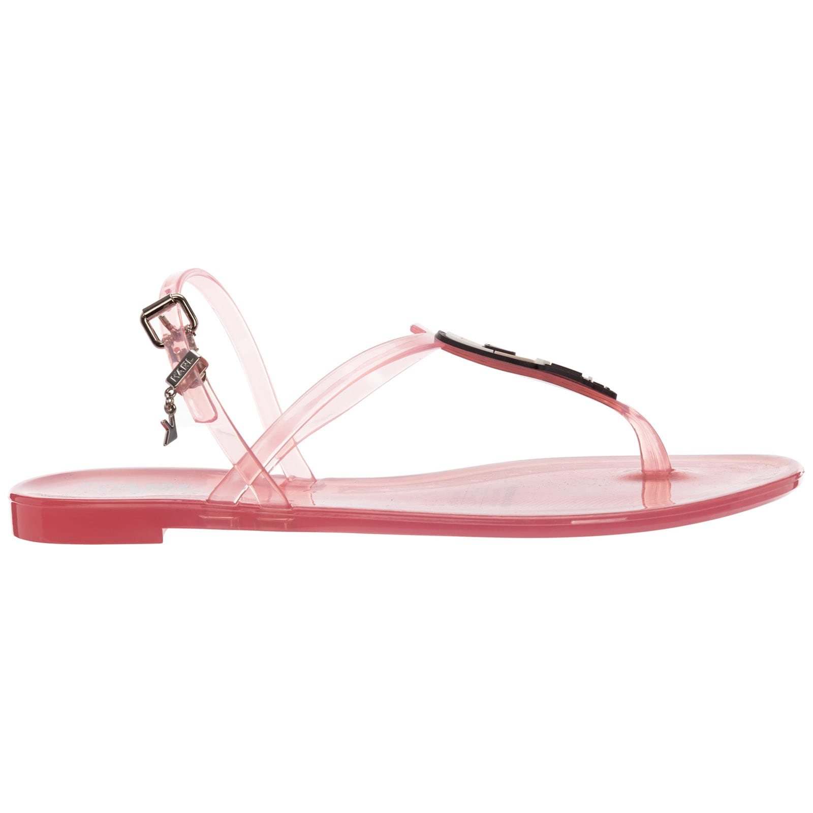 Karl Lagerfeld Jelly T-bar Sandals