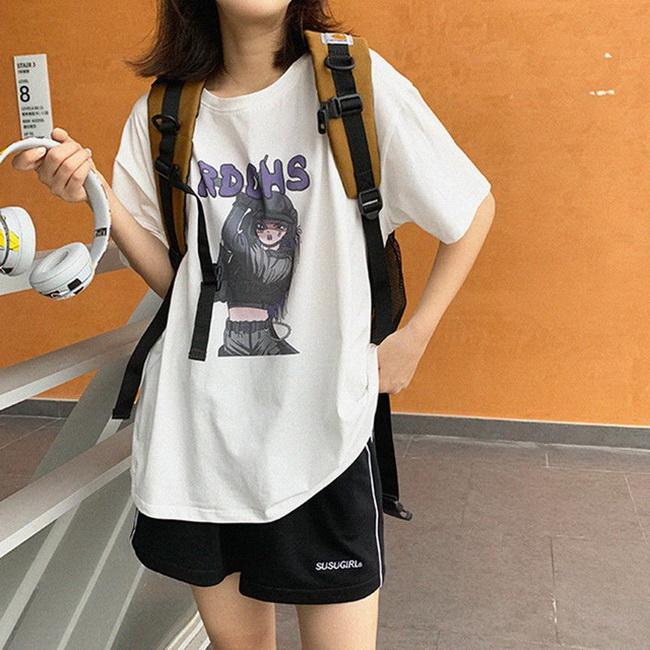 FOFU-彈性棉市場價短袖印花【08SG06658】