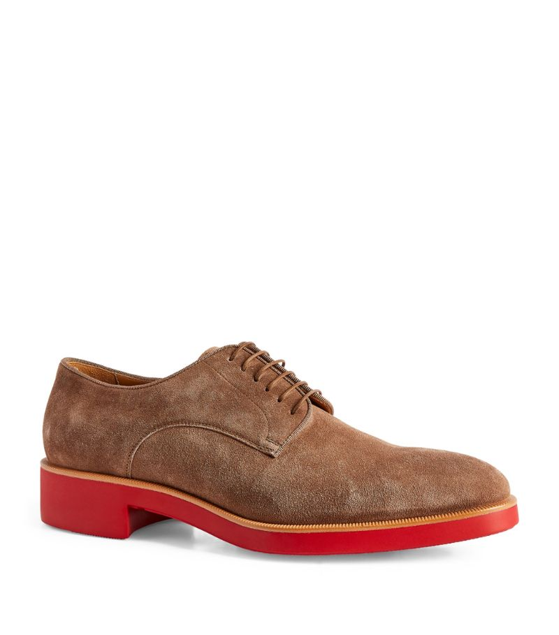 Christian Louboutin Davilo Suede Oxford Shoes