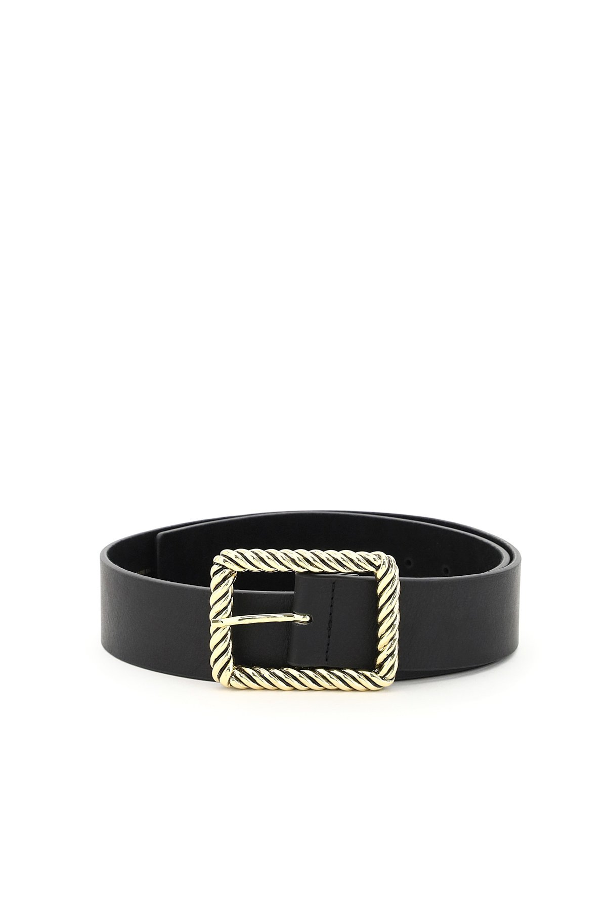 B low the belt jeanelle hammered leather belt