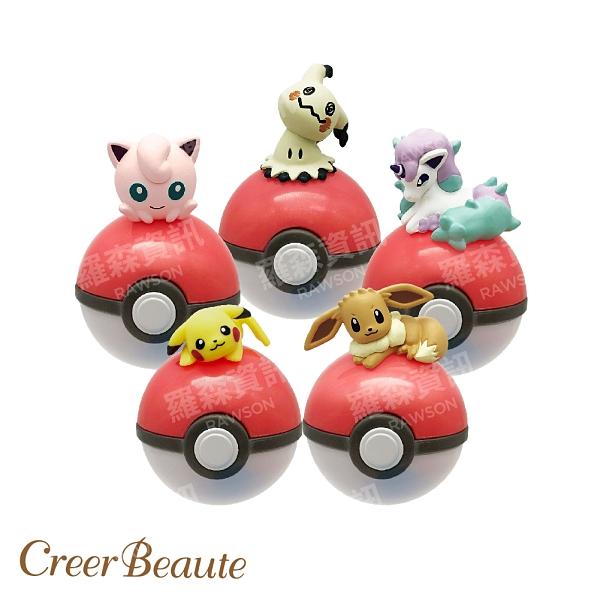 Pokémon 日本寶可夢 聯名潤唇膏 神奇寶貝 皮卡丘 伊布 夢幻 小火馬 謎擬Q 護唇膏 乳木果油 公司貨