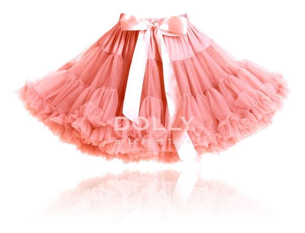 【荷蘭 DOLLY】公主雪紡澎裙 - 珊瑚粉 PET32NB (3-18個月嬰幼尺寸)
