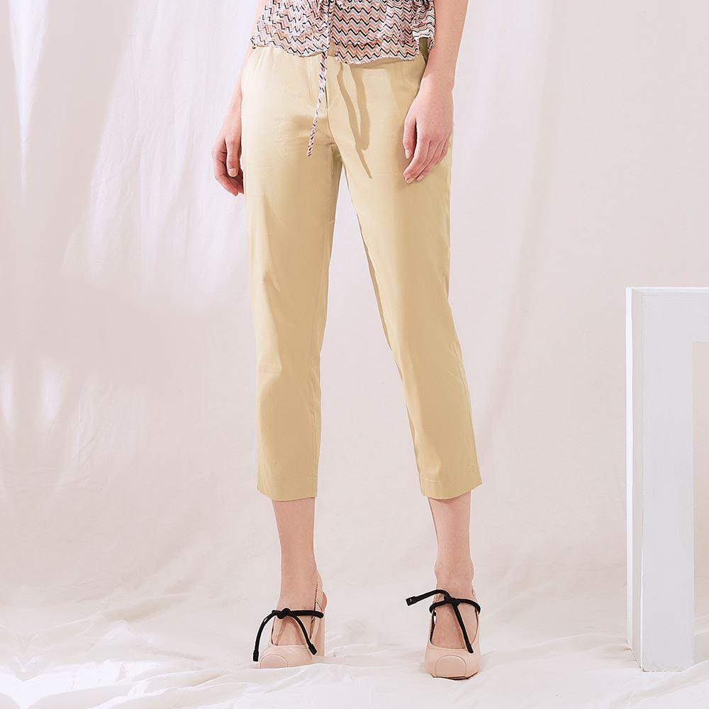 OUWEY歐薇 質感修身七分直筒褲(可)J02629
