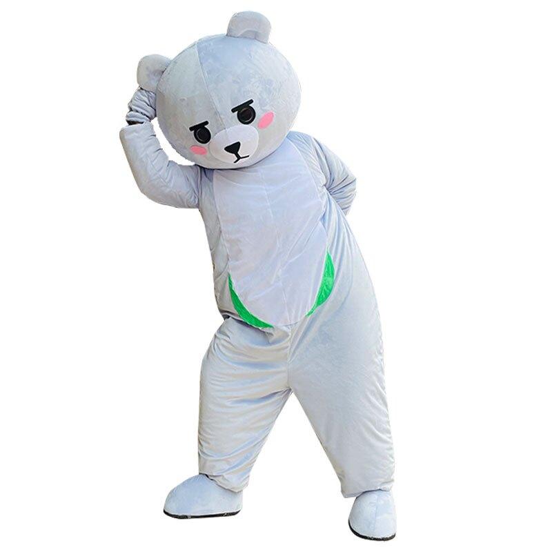 網紅熊人偶服裝 抖音牽然熊同款套裝卡通人偶服裝 成人行走玩偶服裝