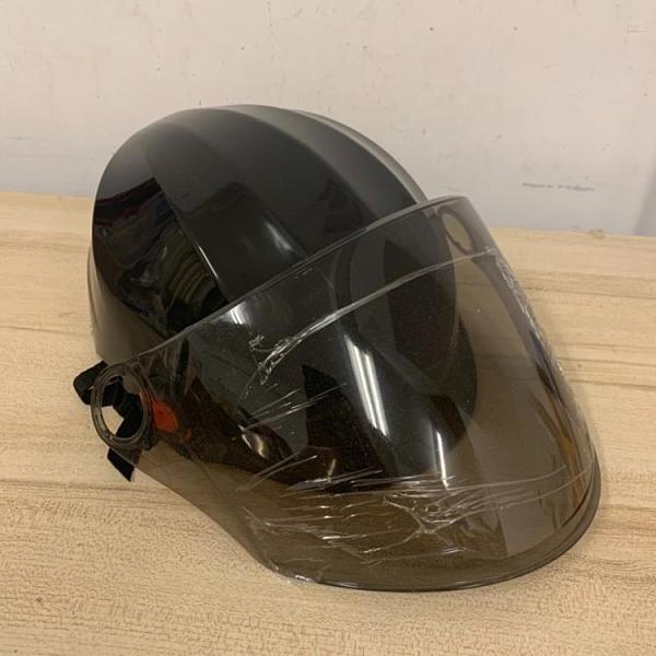 電動腳踏車自行車頭盔四季通用個性半盔安全帽(30*20*15/@777-11263)