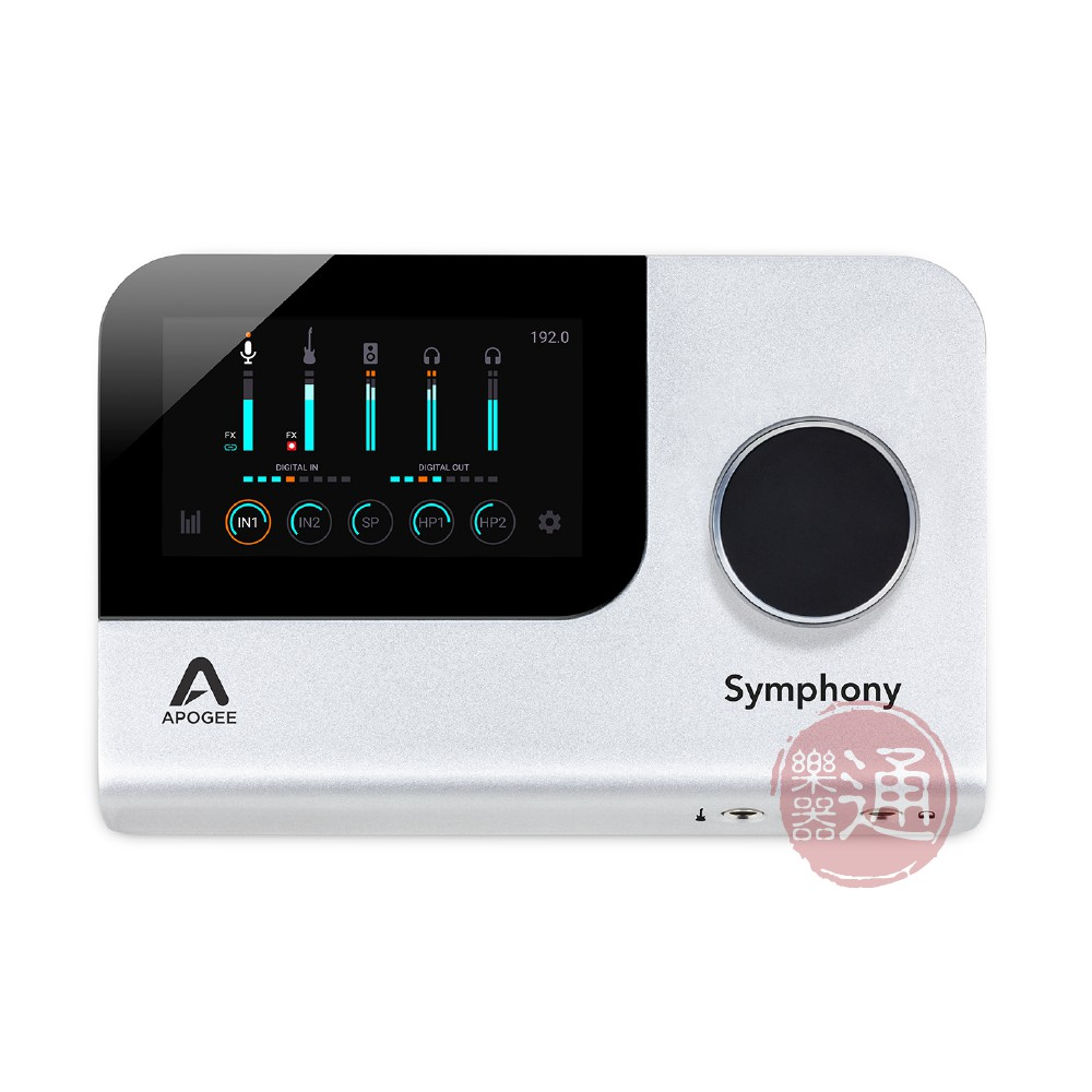 Apogee / Symphony Desktop 10in/14out USB-C 錄音介面(iOS可用)【樂器通】