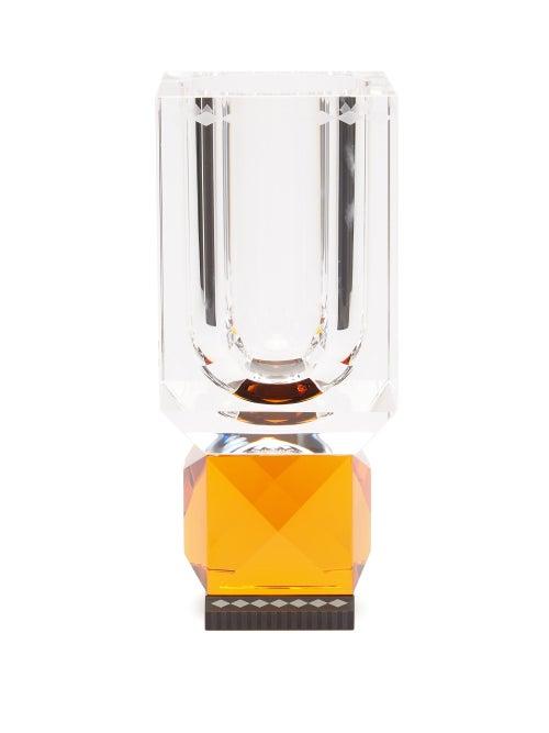Reflections Copenhagen - Ohio Crystal Vase - Clear Multi