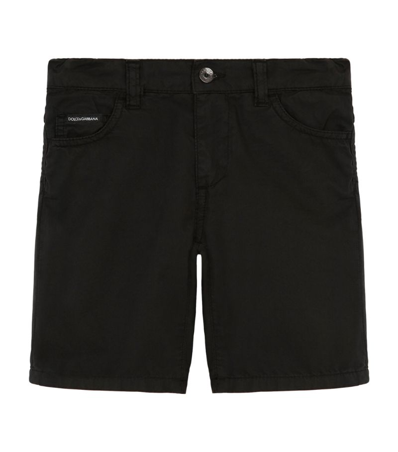 Dolce & Gabbana Kids Logo Bermuda Shorts (8-12 Years)