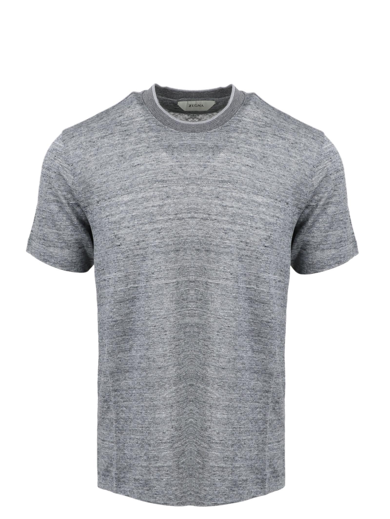 Melange Linen T-shirt