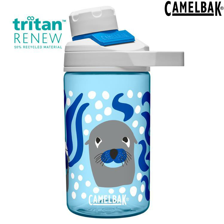Camelbak Chute Mag Kids 兒童戶外運動水瓶400ml Renew CB2492401041好奇海獅