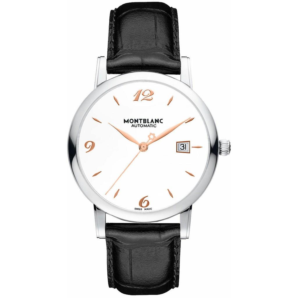 MONTBLANC萬寶龍-star系列-白面自動腕錶-玫瑰金字-110717