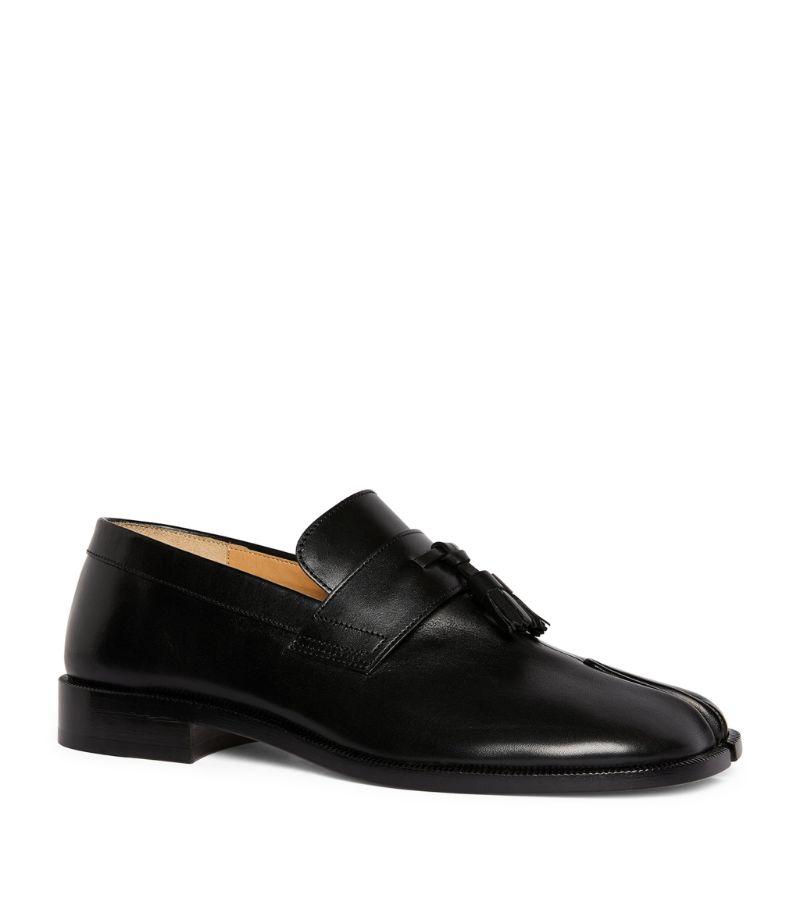 Maison Margiela Leather Tassel Tabi Loafers