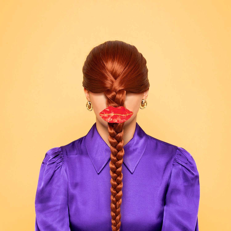 Lips 髮夾