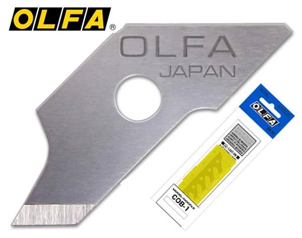 圓規刀片 OLFA COB-1 (15片/包) CMP-1 圓規刀用【文具e指通】 量販團購