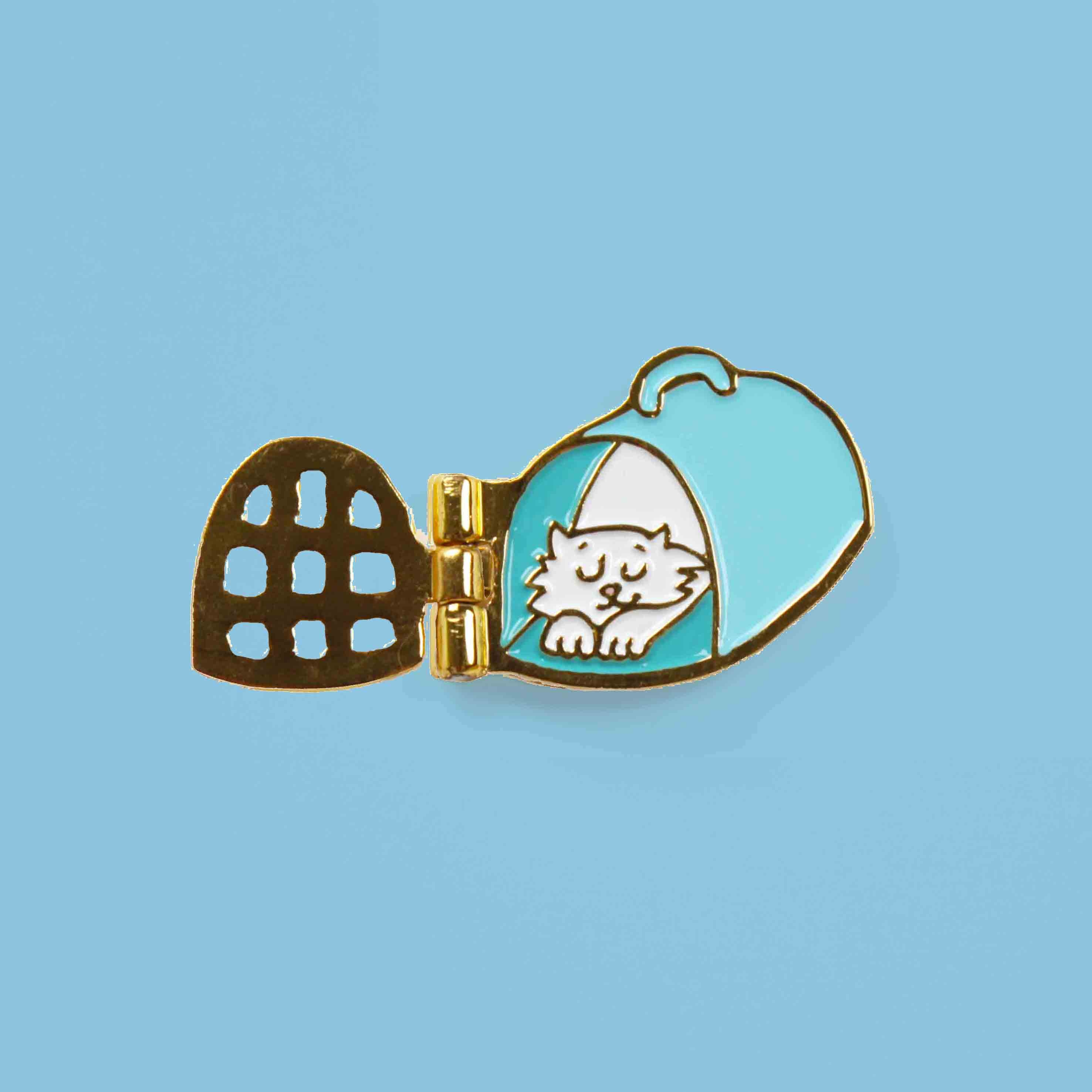 Cat Basket 徽章