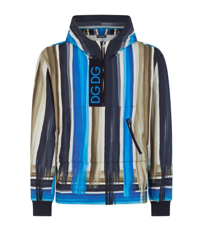 Dolce & Gabbana Striped Hoodie