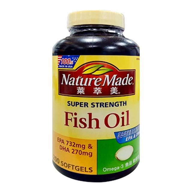 萊萃美Omega-3魚油軟膠囊 200粒