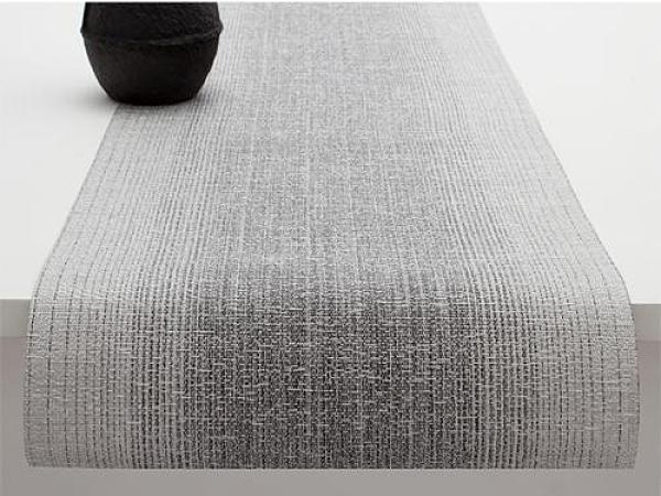 美國Chilewich 桌旗36*183cm-光影系列(銀)