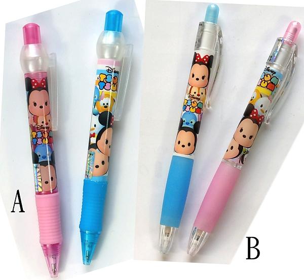【卡漫城】 Tsum 自動筆 兩支組 二選一 ㊣版 藍筆 原子筆 自動鉛筆 迪士尼 抗壓寫不斷 米奇米妮