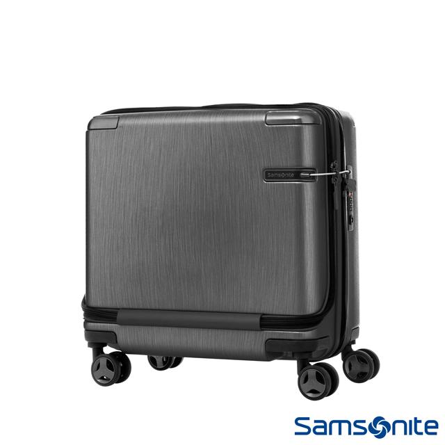 Samsonite新秀麗 Evoa商務機長登機箱(黑)
