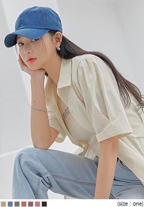 韓國空運 - 水洗多色款棉質棒球帽 帽子