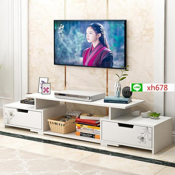 電視櫃茶几組合現代簡約客廳小戶型簡易臥室家用儲物北歐電視機櫃【頁面價格是訂金價格】