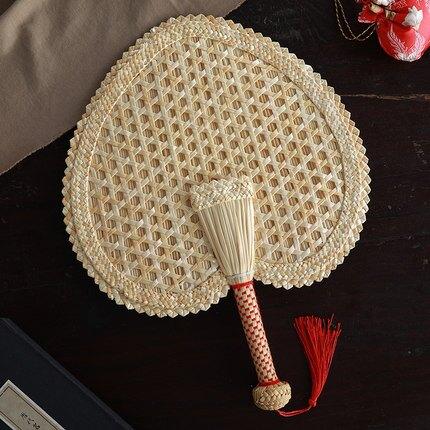 蒲扇 蒲扇老式手工棕葉兒童兒童驅蚊納涼草扇夏季便攜男女編織芭蕉扇子