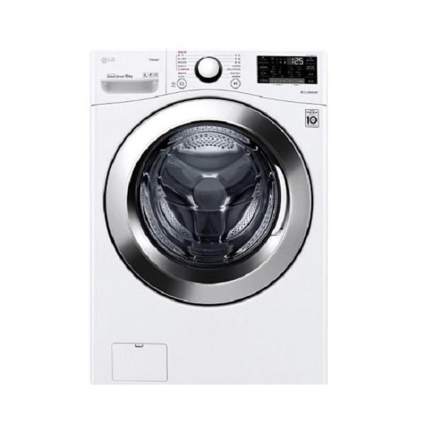 【南紡購物中心】LG樂金【WD-S18VCW】18公斤滾筒蒸洗脫洗衣機