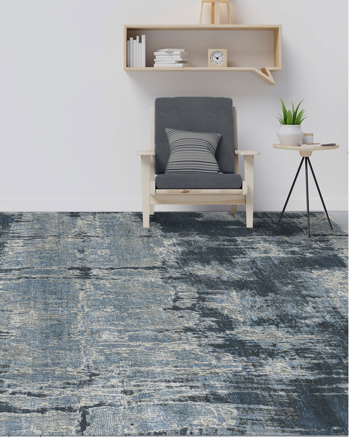 Dixon Hand-Knotted Rug, 6' x 9'