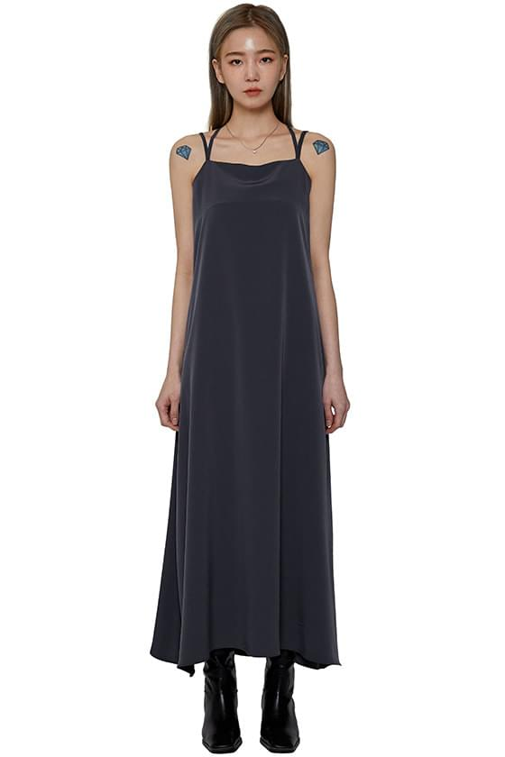 韓國空運 - Athena sleeveless long dress 長洋裝
