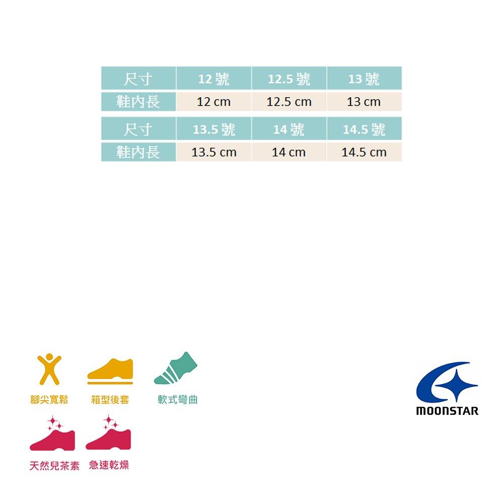 Moonstar月星寶寶鞋 男童學步涼鞋 HI系列速乾鞋 小童涼鞋 護趾涼鞋 包頭涼鞋 日本機能鞋 K9639