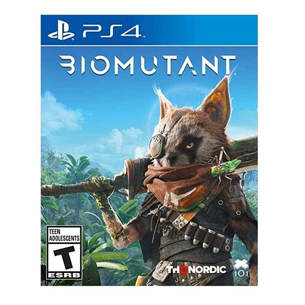 PS4 突變紀元 Biomutant 中英文版【預購5/25】