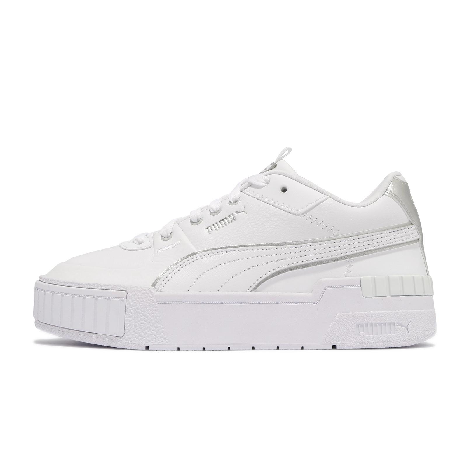 Puma 休閒鞋 Cali Sport Wabi-Sabi 女鞋 白 銀 厚底 板鞋 小白鞋【ACS】 37481801