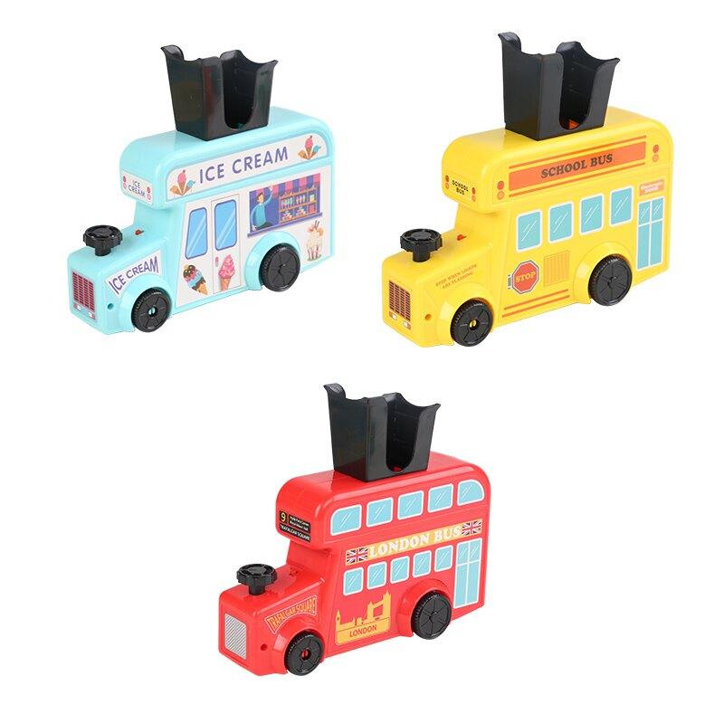 多米諾骨牌 自動投放車兒童力玩具動腦男孩女孩小火車發牌積木