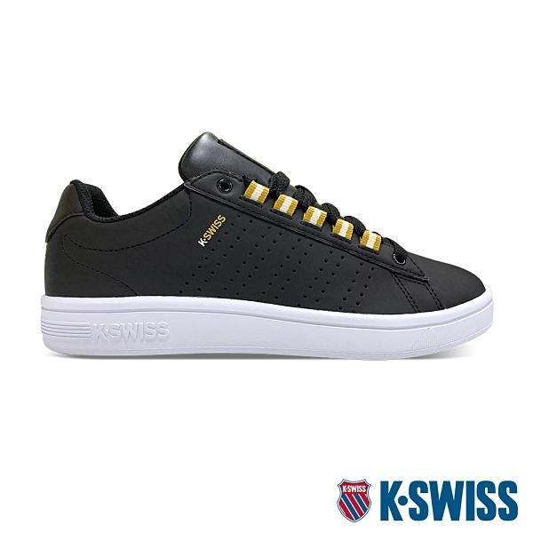 K-SWISS Court Casper II S 時尚運動鞋-女-黑/金