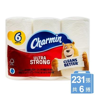 美國 Charmin 超強韌捲筒衛生紙(231張x6捲/串)