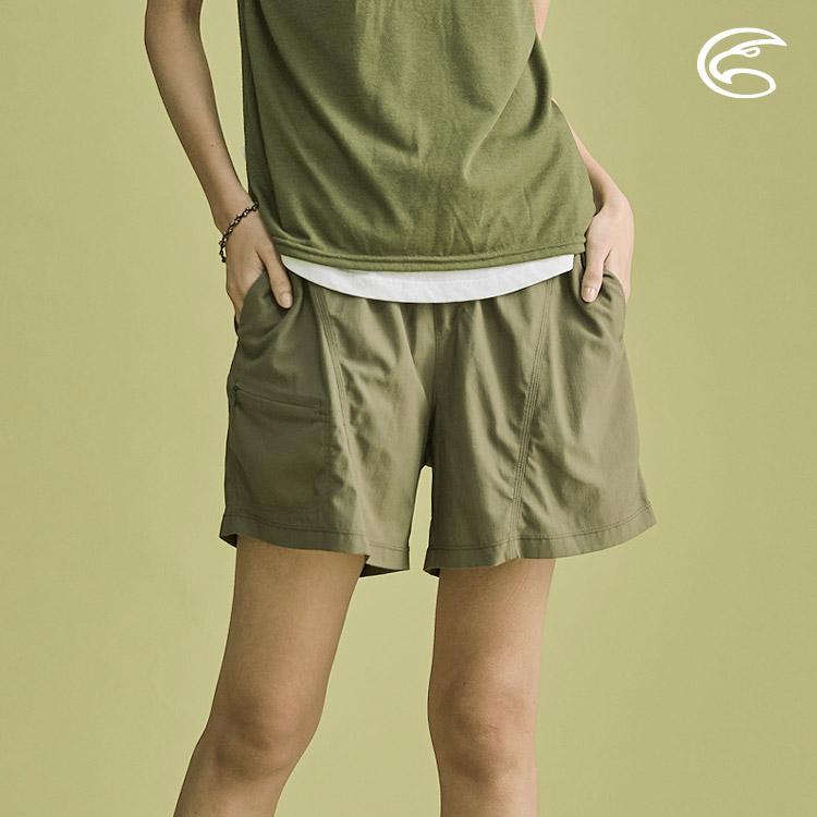 ADISI 女抗UV輕薄吸濕快乾透氣短褲AP2011041 (S-2XL) / 城市綠洲 (吸濕快乾、防曬、抗紫外線、超薄透)