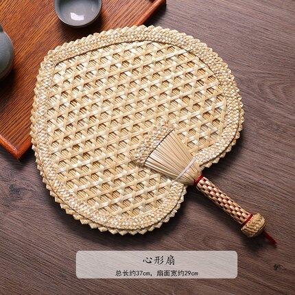 蒲扇 手工編織小麥秸老式大蒲扇夏季手搖扇風兒童兒童兒童納涼驅蚊扇子
