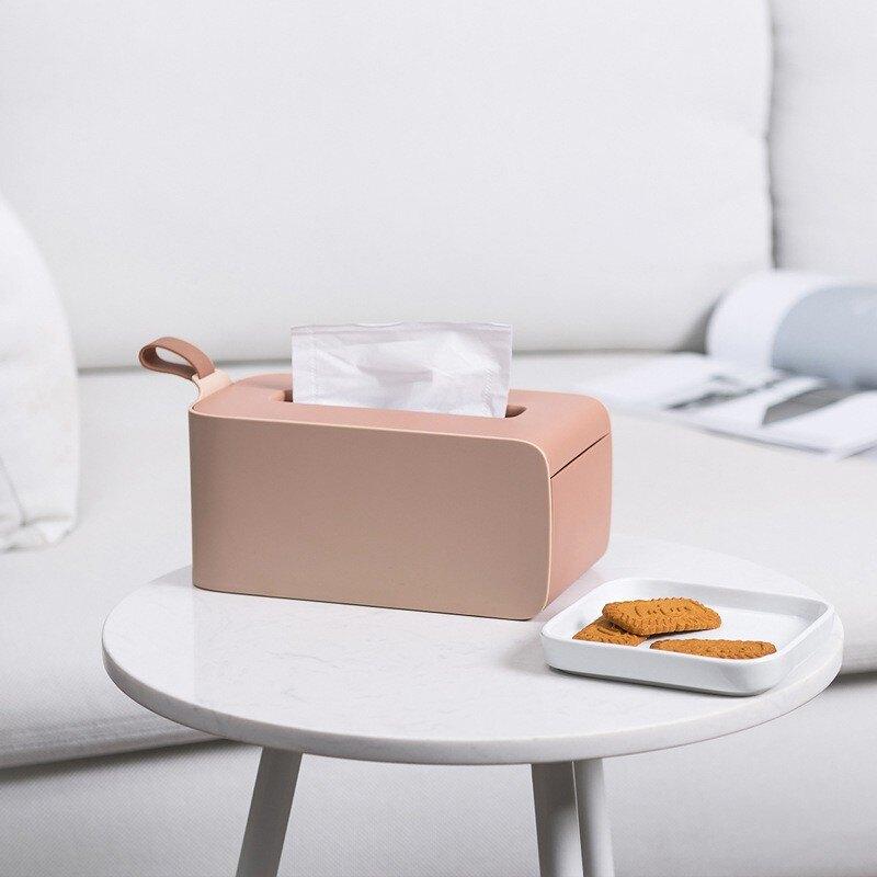 面紙盒 可手提 客廳 抽紙盒 家用 茶幾 臥室 車載 創意 簡約面紙盒 紙巾收納 紙巾