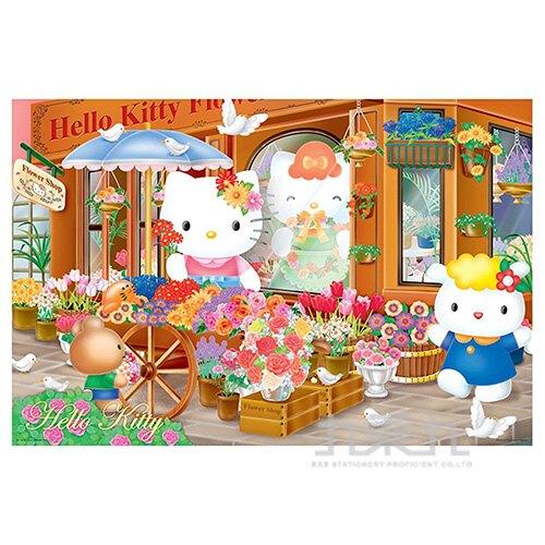 Hello Kitty浪漫花坊拼圖1000片