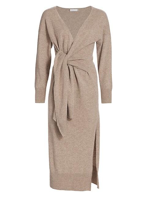 Skyla Loungewear Knit Wrap Dress