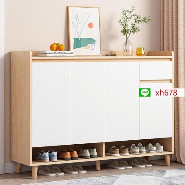 鞋架簡易家用門口經濟型收納室內好看多層防塵置物架省空間鞋櫃【頁面價格是訂金價格】