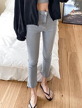 韓國空運 - Light Blue Gracie PT 牛仔褲
