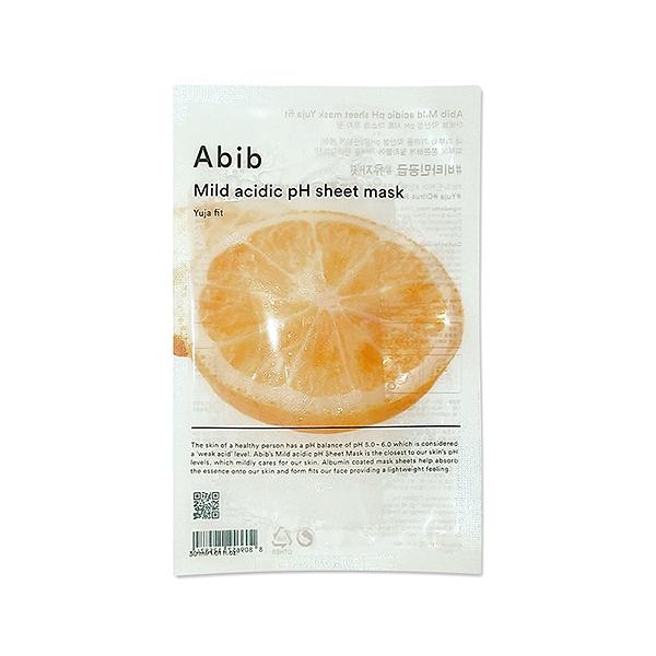 Abib 柚子淨白面膜 30ml/片 弱酸性面膜 曬後保養【PQ 美妝】