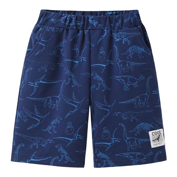 男童短褲 男童短褲2021新款夏季兒童裝寶寶五分褲子中大童薄款運動中褲外穿 小衣裡