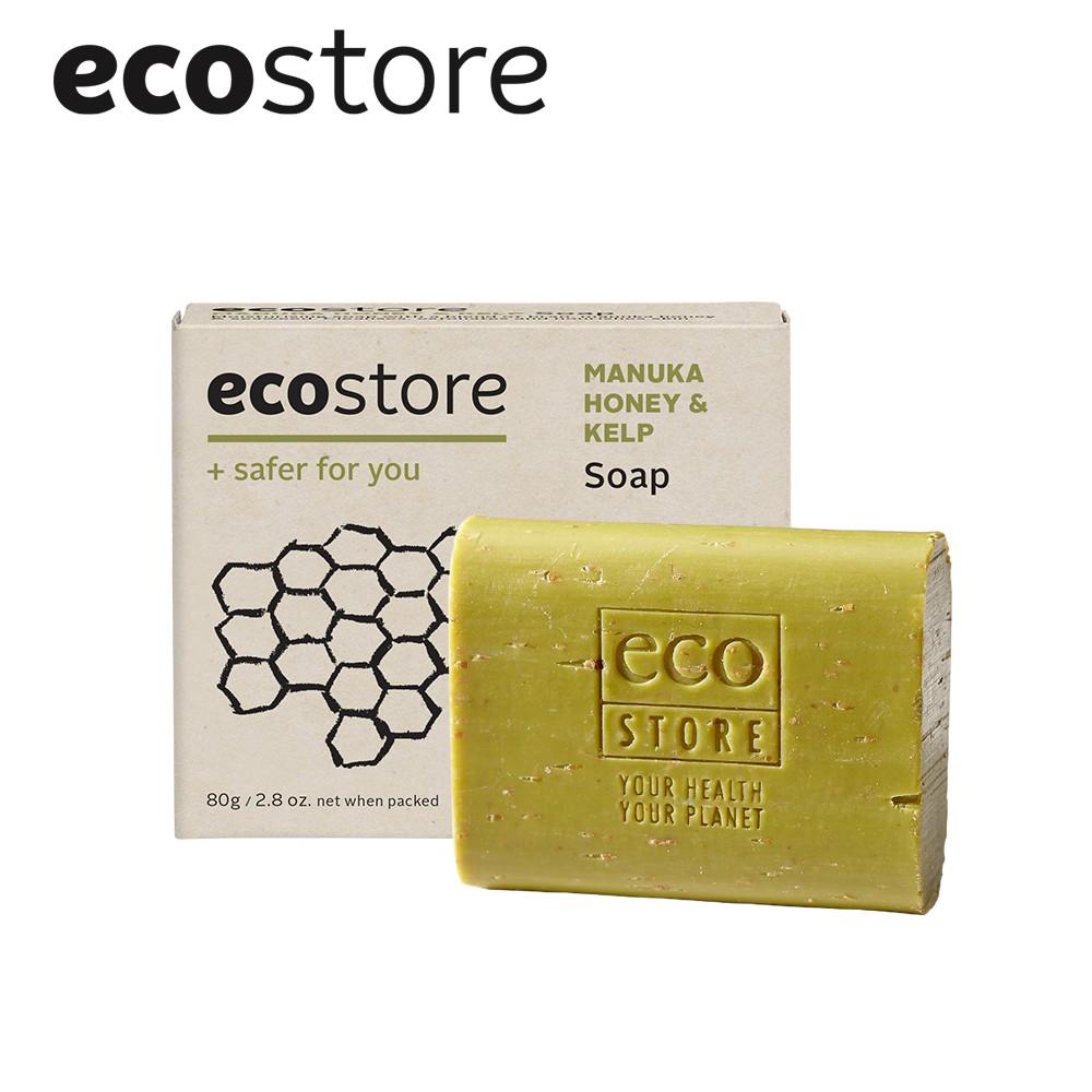 【ecostore宜可誠】純淨香皂_麥蘆卡蜂蜜海藻 80g