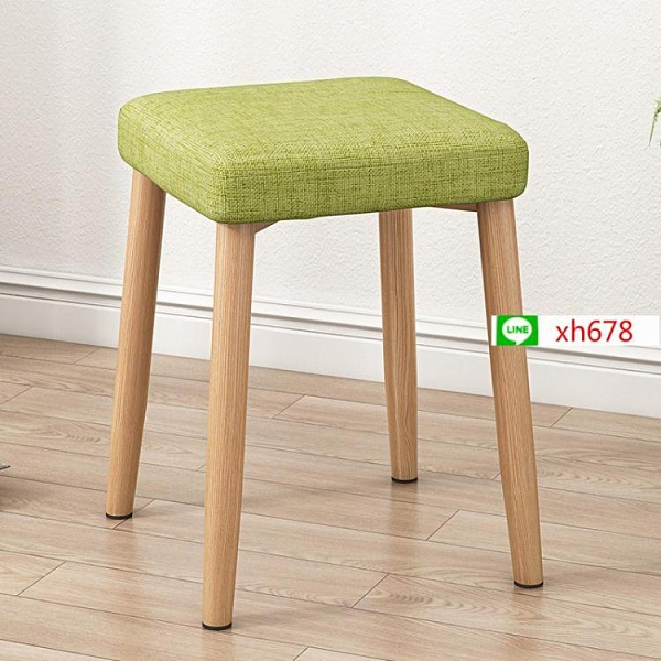 現代簡約小方凳子時尚創意化妝凳椅子家用餐椅凳成人布藝軟面矮凳【頁面價格是訂金價格】