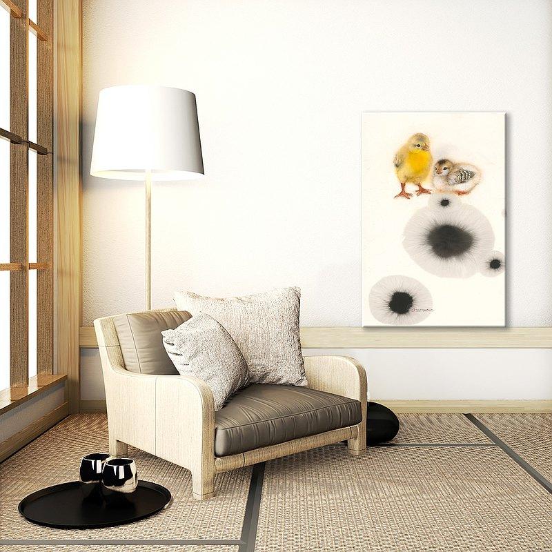 藝術裝飾畫滿月禮物 兒童書房空間佈置掛畫 授權藝術家 SUN LIN