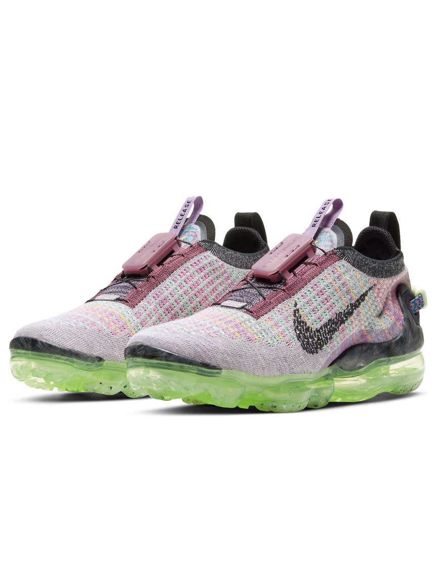 Nike Vapormax 2020 trainers in purple and pink-Multi